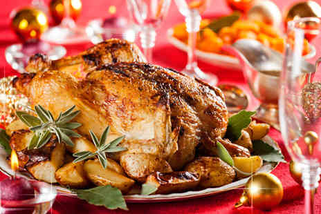 Ramada Warwick - Three course Christmas lunch for 2 people including a glass of wine - Save 63%
