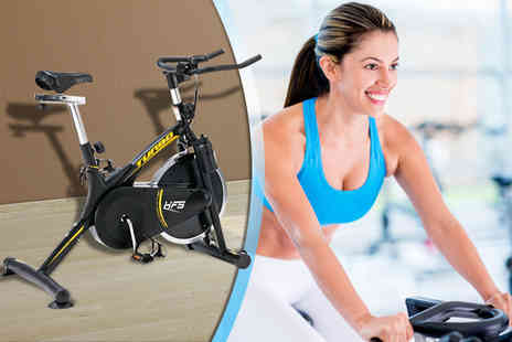 Games & Fitness - Powertech Turbo exercise bike - Save 41%