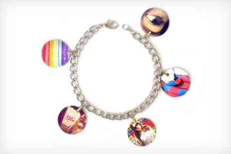 Instajunction - One Personalised Instagram Charm Bracelet - Save 52%