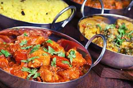 Indigo Bistro - Two Course Indian Meal For Two - Save 54%
