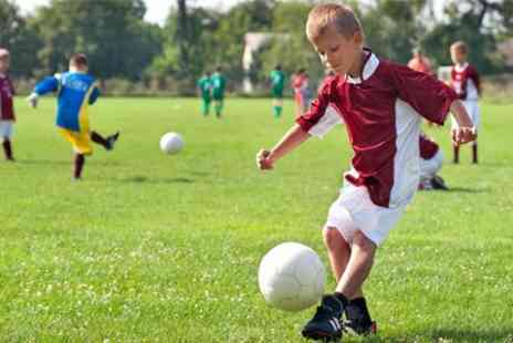Shooters Football - Children s Football Party For Up to Ten - Save 50%