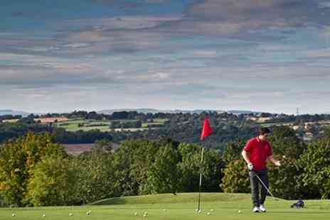 BrynHill Golf Club - Round of golf 18 Holes For Two - Save 53%