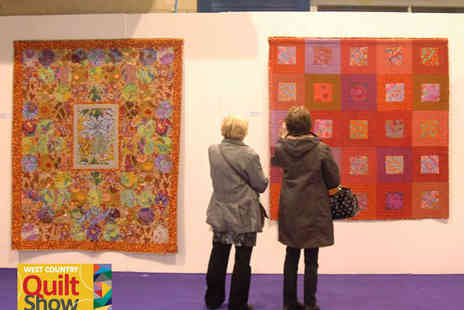 The West Country Quilt Show - Two Tickets to The West Country Quilt Show - Save 56%