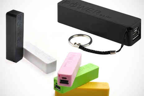 Living Hut - Power Bank Smartphone Charger Keyring - Save 71%