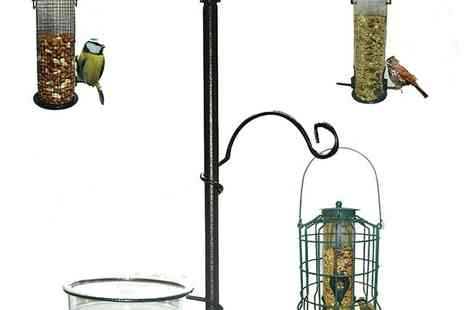 babz - Wild Bird Feeding Station Hanging Feeder - Save 50%