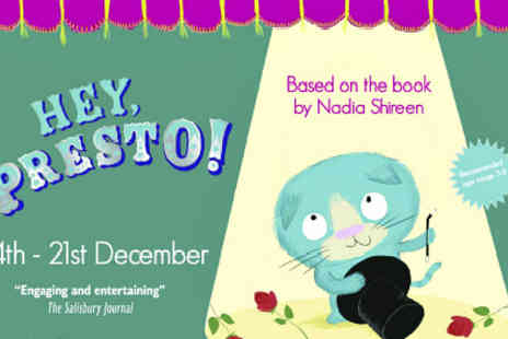 Pleasance Theatre - Hey Presto The Delightful Family Show - Save 50%