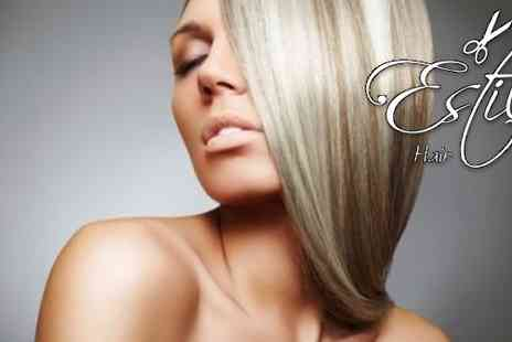 stilo Hair Lounge - Cut, Blow Dry, Conditioning and Massage - Save 63%