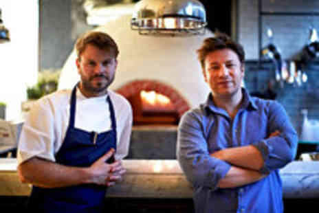 Jamie Oliver - Three Course Meal with a Bellini at Jamie - Save 21%