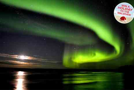 Bookable Holidays - Three night Northern Lights tour & flights - Save 44%