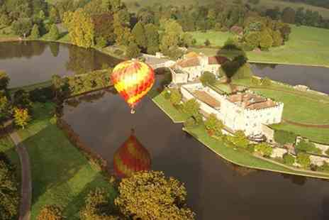 Balloons Over Britain - One Hour Hot Air Balloon Flight - Save 46%