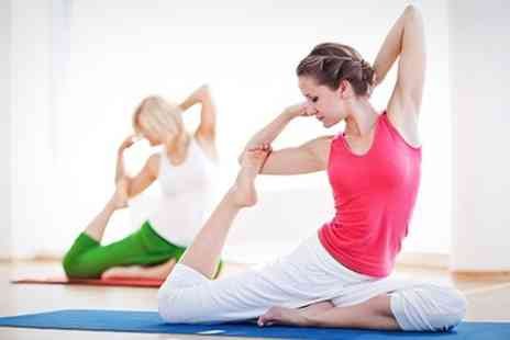 Move GB - Yoga Ten Classes Including Hot Yoga - Save 76%