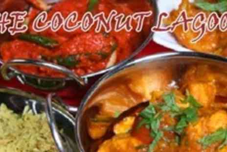 Coconut Lagoon - Three Courses of South Indian Cuisine For Two With Nibbles and Sides - Save 62%