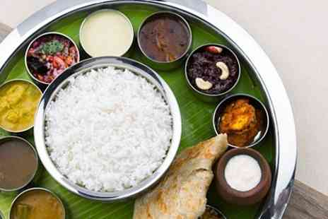 Rising Sun Horley - Indian Thali Meal With Coffee - Save 53%
