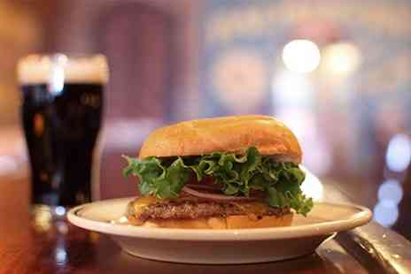Ricks Bistro - Gourmet Burger Side and Beer For Two - Save 56%