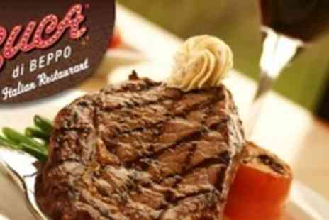 Buca di Beppo - Two Spa Passes for De Vere Village Newcastle plus Two Course Meal - Save 60%