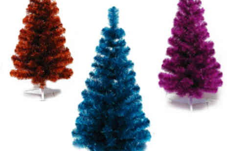 Festive Lights - 3ft Tinsel Tree from Festive Lights - Save 53%