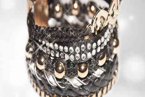 bag a bargain - Uniquely styled hipanema bracelet - Save 83%