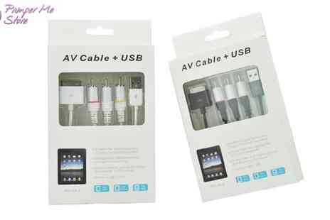 Sterling Distribution - Iphone/Ipad 30 Pin AV Cable Kit - Save 47%
