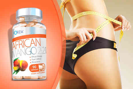 Forza Supplements - 90 capsules of African Mango - Save 47%