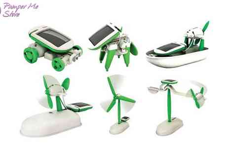 Sterling Distribution - Six in One Solar Toy - Save 43%
