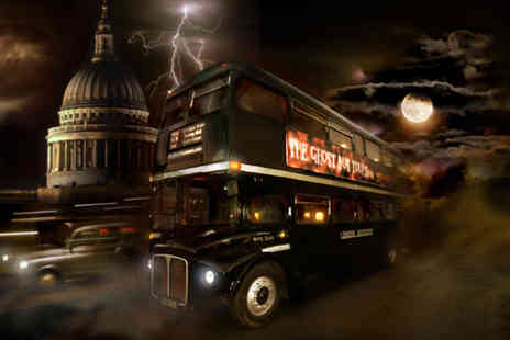 The Ghost Bus Tours - Ghost Bus Tour ticket around London and a guidebook - Save 50%