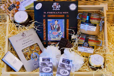 Forman & Field - Great British Gourmet Christmas Hamper - Save 45%