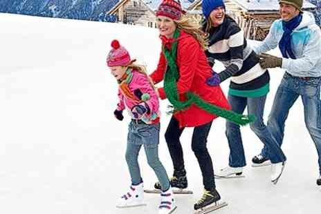 Hilltop Garden Centre - Ice Skating Plus Pizza For Two - Save 50%