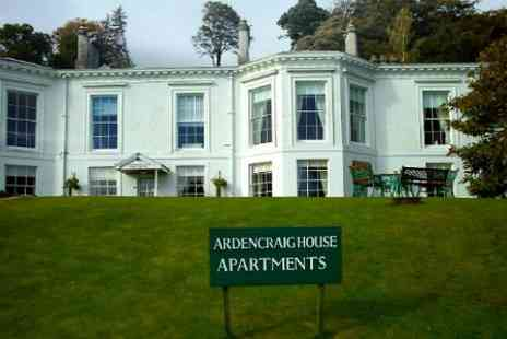 Ardencraig House Apartments - Two Nights four Star Self Catering Stay - Save 46%