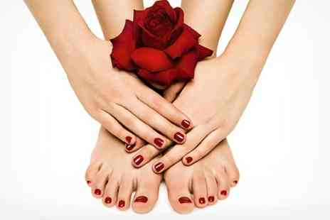 EJS Beauty - Shellac Nails For Fingers or Toes - Save 50%