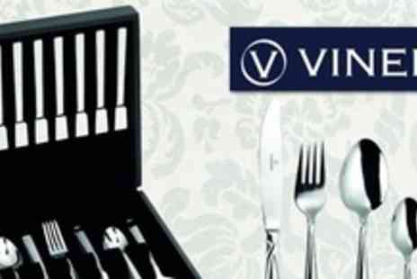 Viners - 42 Piece Stainless Steel Cutlery Set for £60 from Viners - Save 60%