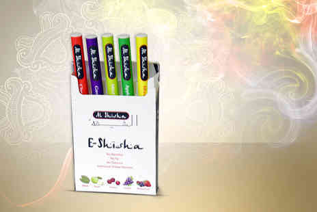 Sherwood Direct - Five electronic shisha pens - Save 50%