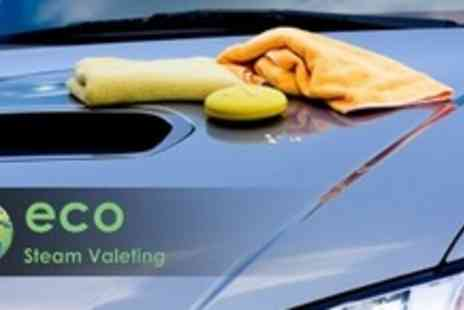 Eco Steam Valeting - Full Steam Car Valet - Save 60%