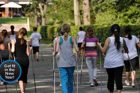 Balance Fitness - Right foot with 15 Nordic walking sessions  - Save 83%