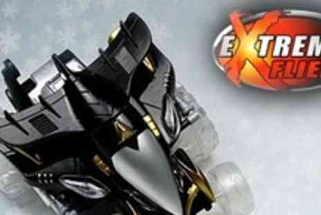 Extreme Fliers - Remote Controlled Hyperspeed Stunt Car - Save 52%