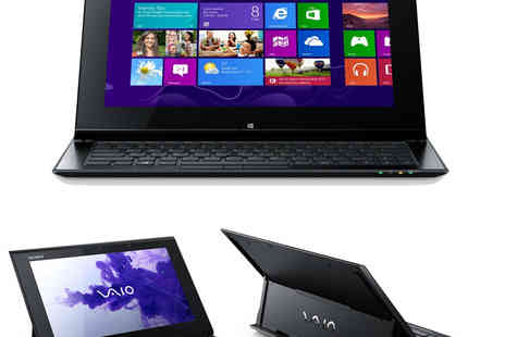 "laptopoutletdirect - Sony Vaio Duo i7 Ultrabook Tablet PC 11.6"" 8GB RAM 256GB SSD - Save 44%"