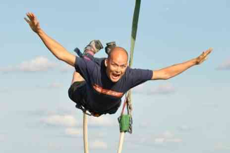 UK Bungee Club - Bungee Jump at Choice of Location Nationwide For One or Two - Save 2%