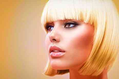 Five Ways Hair Design - Cut and Blow Dry With Colour or Highlights - Save 53%