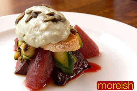 Moreish Restaurant - Seven Course December Tasting Menu for Two  - Save 62%