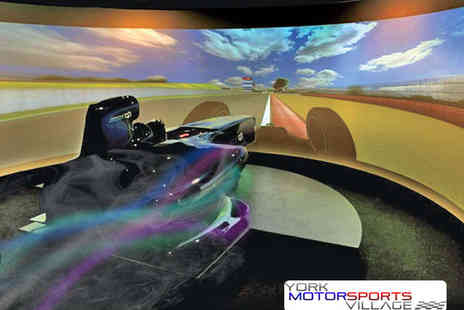 York Motorsports Village - 30 Minute Grand Prix F1 Simulator Experience - Save 62%
