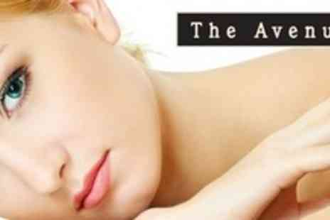 The Avenue - Diamond Microdermabrasion Facial With Skin Consultation and Visarome Atone Hot Towels - Save 71%