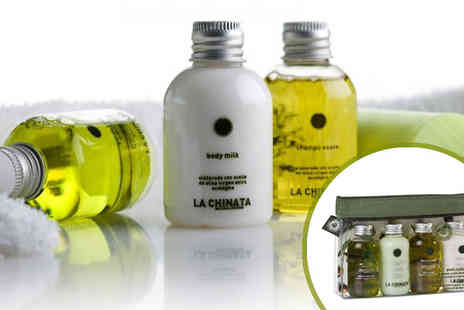 The Spanish Olive Shop - luxury body care essential travel kit - Save 56%