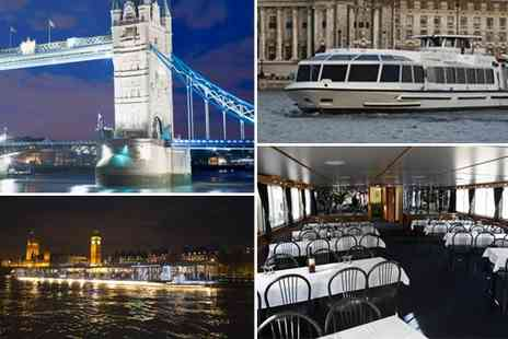 Thames River Tours - Christmas Disco Cruise on the Thames - Save 53%