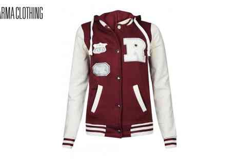 Karma Clothing - Woman's Varsity Orlando Baseball Jacket - Save 54%