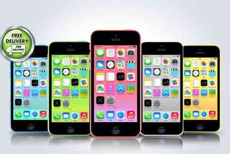 buy mobiles- iPhone 5C 16GB contract required - Save 94%