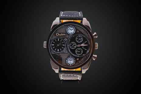 Black Swan - Stunning Oulm mens watch - Save 50%