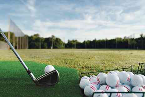 Chandlers Ford Golf Academy - Driving Range Balls Plus Meal and Beer - Save 50%