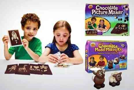Sensible Supplies - Magic Choc Chocolate Picture and Model Maker Sets - Save 50%