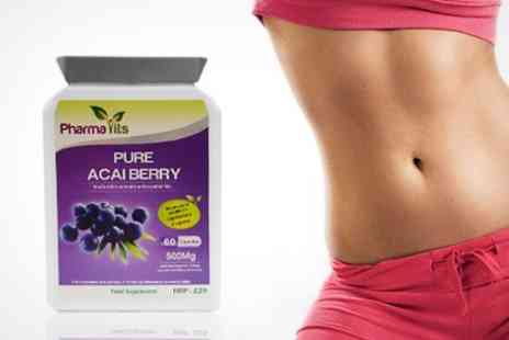 Chemist 4 U - Acai Berry Tablets One Month Supply - Save 72%