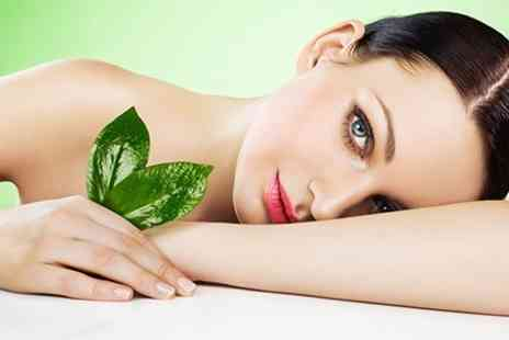 All In Good Hands - Plant Extract Facial With Vinylux Gel Manicure or Pedicure - Save 65%