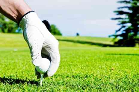 Breedon Priory Golf Centre - Day of Golf For Two - Save 67%